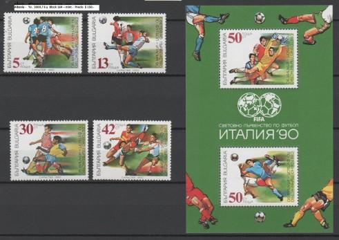 Albania -   Yv.  3303 / 6 y  Block 164 – mint