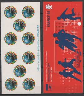 Francia  - Año  1998 -  1  Block  mint