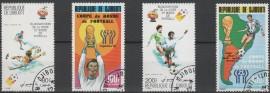 Djibouti -  serie  usada  de Mundial  Argentina 1978 -