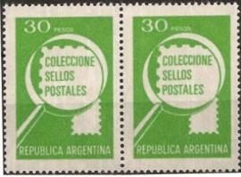 Pareja mint, Coleccione sellos 30 pesos, neutro