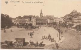 Tarjeta postal, París - Buenos Aires 1903 - Embarcación sobre el Nilo