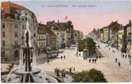 Tarjeta postal norteamericana, a Buenos Aires 1924 - Carruajes