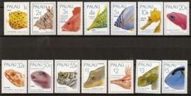 Fauna - Peces (serie completa) -  Palau